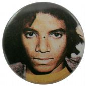 Michael Jackson - 'Young Face' Button Badge